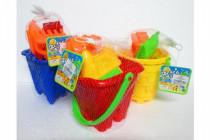 Sada na piesok plast 6ks - mix variantov či farieb
