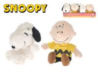 Snoopy 20 cm / Charlie 21 cm plyšoví - mix variant či barev