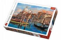 Puzzle Benátky - Kanál Grande 1000 dielikov