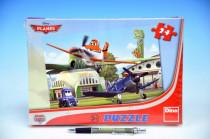Puzzle Planes U hangáru 26,4x18,1cm 24 dílků