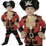 Kostým pirát 92 - 104 cm