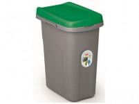 kôš na triedený odpad HOME ECO SYSTEM 15l plastový, ŠE / ZO