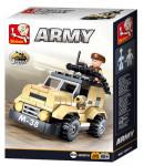 Vojenské hlídkové vozidlo 102 dílků
