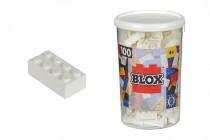 Blox 100 Kocky biele v boxe