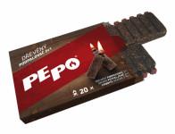 Podpalovač PE-PO 2v1 dřevo 20 podpalů