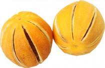Dekorace - Pomeranč mini celý - 2 ks