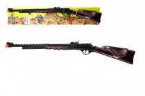 Pistole/Puška na kapsle 8 ran plast 84cm