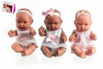 Bábika / bábätko Arias voňajúce 26cm pevné telo v darčekovej krabičke - mix variantov či farieb