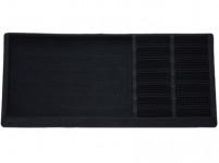 rohož s odkvapkávačom na obuv 80x40x2,3cm guma + PP ČER
