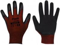 rukavice FLASH GRIP latex 11