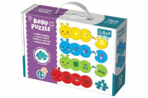 Puzzle baby Farby
