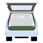 plachta krycí do kufru auta 140x200cm, PE 130g/m2