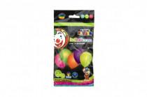 """Balonek/Balonky nafukovací LED neon svítící 10""""/ 25cm karneval"""