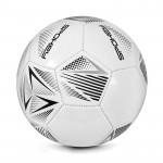 Spokey STENCIL Fotbalový míč vel. 5 bílo-šedý