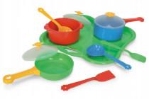 Party World - Tác s nádobím plast 11ks Wader