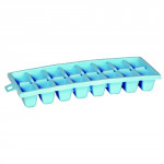 forma na ľad kocky (16x) 27x11x4cm plastová - mix farieb