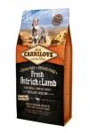Carnilove Dog Fresh Pštros & Lamb for Small Breed 6kg