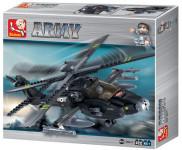 Stavebnice Vrtulník Apache