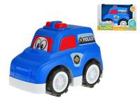Auto policajné veselé 25 cm voľný chod