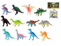 Dinosaurus 4-8 cm 12 ks - mix variantov či farieb
