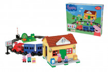 PlayBig Bloxx Peppa Pig Vláčkodráha