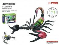 4D Model - Škorpión