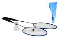 Badminton set 2 ks raketa + 2 košíčky v PVC taške