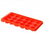 forma na ľad motív (18x) 24x12x2,5cm plastová - mix farieb