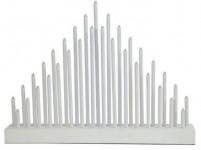 svietnik vianočné el.33 sviečok LED, driev. BI, 40,2x30x5cm, do zásuvky