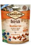 Carnilove Dog Crunchy Snack Pštros & Blackberries 200g