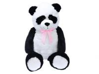 Panda plyšová 100 cm s mašľou