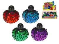 Loptička sieťkový stretch 6 cm - mix farieb