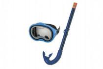 Sada potápačská okuliare + šnorchel plast na karte