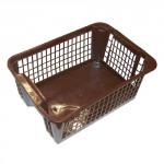 košík stohovateľný 36x26x14cm plastový, HN