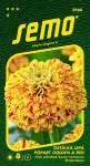 Semo Cínia pôvabná - Popart golden and red (žíhaná) 0,25g