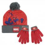 Sada rukavice, čiapka s brmbolcom - Spiderman