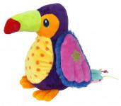 Tukan plyšový pro nejmenší 25 cm