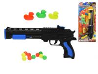 Pistole na kuličky 32 cm s plastovými kačenkami