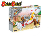 Stavebnice BanBao královský kočár 195ks + 4 figurky