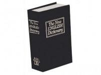 trezor kniha 180x115x54mm ČER