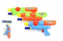 Vodní pistole 28cm plast - mix barev