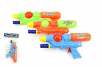 Vodné pištole 28cm plast - mix farieb