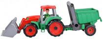 Truxx Traktor s prívesom, ozdobný kartón