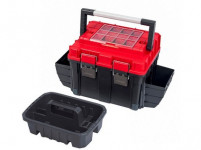 kufor na náradie TOOLBOX HD COMPACT 2 CARBO 515x350x350mm