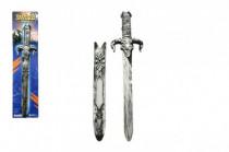 Meč s pouzdrem plast 52cm