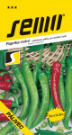 Semo Paprika zeleninová pálivá - Pálivec rýchl, pole 0,6g
