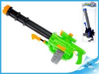 Vodné pištole 70 cm so zásobníkom a pumpou - mix farieb