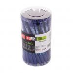 Fine kuličkové pero modré 0,7 mm - 50 ks