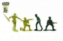 Sada vojáci s doplňky plast