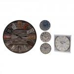 hodiny nástenné pr.33,8cm driev. - mix variantov či farieb